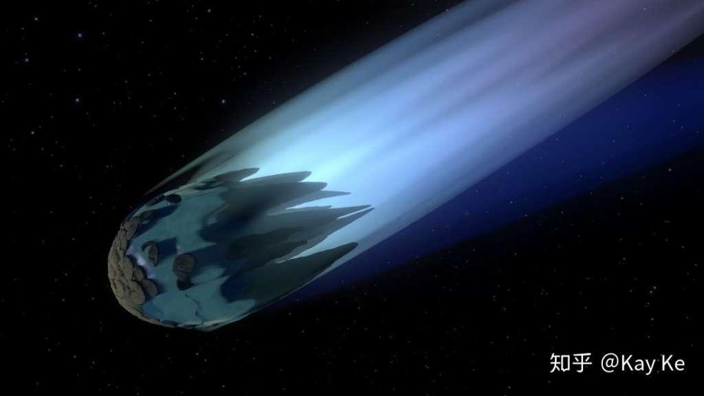 致命的彗星,漂亮的彗尾